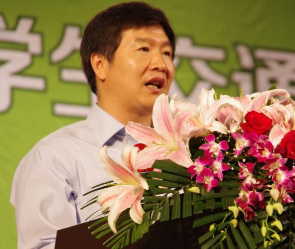 大赛组委会主席 刘小明教授