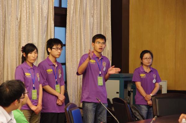 第七届大赛 学生答辩现场